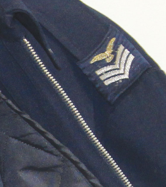 Italian Navy Jacket Detail