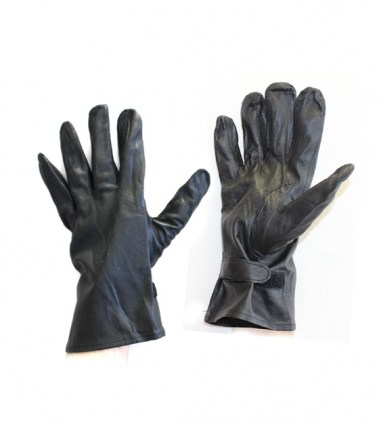 French Officer Leather Gloves websize